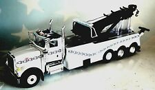 FIRST GEAR PETERBILT 367 ROTATOR WRECKER T800 WHITE W/CHAINS 1/50 DIECAST