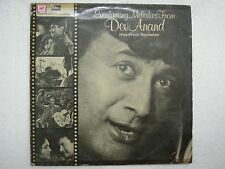 EVERLASTING MELODIES DEV ANAND HITS NAVKETAN baazi hum dono house no 44 LP VG+