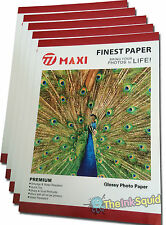 100 Sheets of A4 210gsm High-Quality Glossy Photo Paper for Inkjet Printers