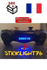 stickers resident evil  lightbar manette ps4 led controller résident evil