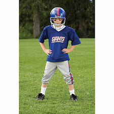 YOUTH MEDIUM New York Giants NFL UNIFORM SET  Game Day Costume Ages 7-9