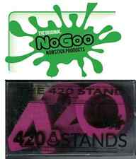 "PURPLE ""NOGOO BRAND 420 STAND""...SILICONE holds 14mm or 18mm slide and tool rest"
