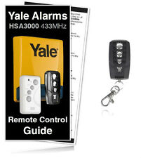 Yale Alarm HSA3095 Premium Compatible Remote Control For All HSA3000 Systems