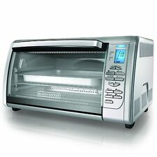 BLACK+DECKER CTO6335S Stainless Steel Countertop Convection Oven Silver