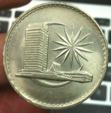 1981 Parliament  $1  coin !Very High Grade-BU ori golden tonning!