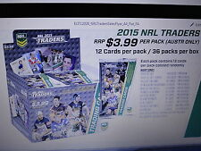 2015 NRL TRADERS TEAM SET OF 9 CARDS WEST TIGERS