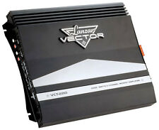 New Lanzar Vector VCT22102000 Watt 2Channel Car Audio Slim Stereo Amplifier Amp