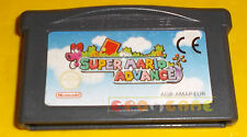 SUPER MARIO ADVANCE (SUPER MARIO 2) Game Boy Advance Gba ○○○○ SOLO CARTUCCIA