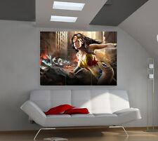 DC Super Hero Girl large giant games poster print photo mural wall art ii138