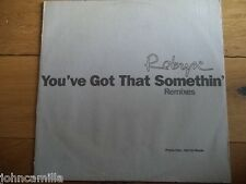 "ROBYN - YOU'VE GOT THAT SOMETHIN' 12"" RECORD / VINYL - RCA - ROB 1"