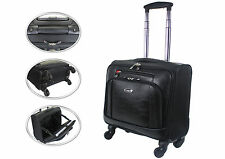 Wheeled Laptop Briefcase Business Office Bag Trolley Case Travel Cabin Bag 814