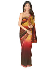 Indian Wear Designer Bollywood Replica  Sari Dress Shilpa Shetty Dual Tone Saree