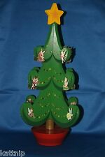 Disney Christmas Music Box Advent Pin Tree Includes All 25 Advent LE 1000 Pins