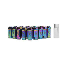 Mishimoto Aluminium Locking Wheel / Lug Nut Set - M12 x 1.5 - Neo Chrome