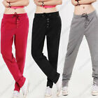 Hot Sale Females Casual Drawstring Sweatpant Sports Harem Pants Trousers LCF