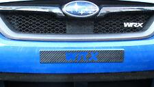 2006-2014 Subaru WRX or STI 3M Carbon Fiber VInyl Front Plate Cover Delete