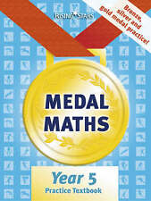 Medal Maths Practice Textbook Year 5: Year 5, Acceptable, McGee, Nicola, Book