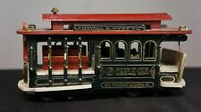 Powell & Hyde San Francisco cable car music box Large