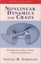 Nonlinear Dynamics And Chaos: With Applications To Physics, Biology, Chemistry,