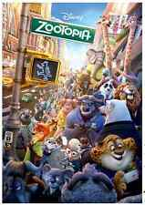 "Jigsaw Puzzles 1000 Pieces ""Zootopia"" / Disney / Toy&puzzle"