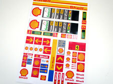 CUSTOM CITY - TOWN - SHELL STICKERS  for SETS Lego 1253 1255 1256 and more!
