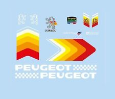 PEUGEOT BICICLETTA decals-transfers-stickers # 9