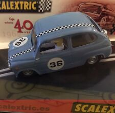 SEAT 600 40 Aniversario SCALEXTRIC 2002 TECNITOYS LIMITED NEW