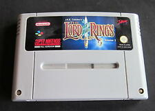Super Nintendo the Lord of the Rings SNES