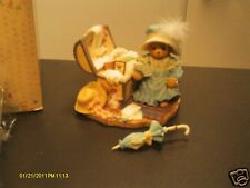 Cherished Teddies _ KAITLYN  w/ chest of old toys- Old treasures, New memories