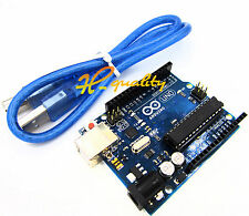NEW UNO R3 ATmega328P Arduino Compatible Board + USB Cable
