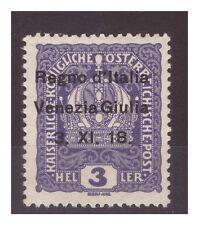 VENEZIA GIULIA 1918 - 3  HELLER   NUOVO   *