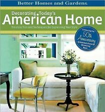Decorating The American Home Better Homes And Gardens New Book HC DJ Design Book