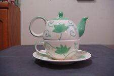 NEW 3 PIECE TEA POT CUP FOR YOU, HAS CUP, SAUCER, TEAPOT