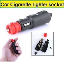 Nuevo coche cigarrillo encendedor de zócalo 12V/24V conexión de alimentación Adaptador Macho Enchufe de Reino Unido