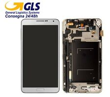 TOUCH SCREEN Display e Touch ORIG. SAMSUNG N9005 Galaxy NOTE 3 colore BIANCO