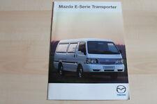81972) Mazda E 2000 2200 Prospekt 01/2000