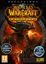 World Of Warcraft WOW Cataclysm ITALIANO PC IT IMPORT ACTIVISION BLIZZARD