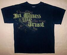 HOUSE OF BLUES / EST 1992 / IN BLUES WE TRUST / BLACK T-SHIRT SIZE M