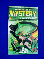 "Men of Mystery 25: golden age reprints.. ""Green "" hero titles."