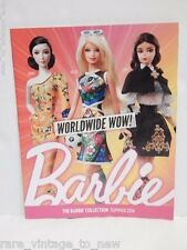 Barbie Collection Catalog Magazine Summer 2014 Collector Mattel Collector Doll