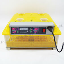 DIGITAL AUTOMATIC EGG INCUBATOR INCUBATOR HATCHER TURNING TEMPERATURE CONTROL CE