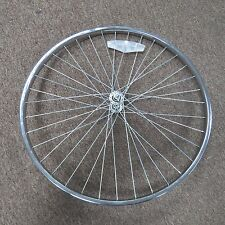 Bike Chrome Front Wheel 24 in 24x13/8 5/16 in Axle Vintage for Road Skinny Tire