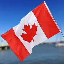 Canadian Flag 3 x 5 ft Polyester Canada Maple Leaf Banner Indoor Outdoor Sports
