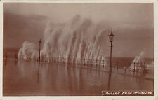 Marine Drive Under Water On A Stormy Day, SCARBOROUGH, Yorkshire RP