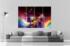 DAFT PUNK RAINBOW  DJ MUSIC  Wall Art Poster Grand format A0 Large Print
