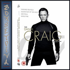 JAMES BOND - THE DANIEL CRAIG COLLECTION - 4 MOVIE COLLECTION *BRAND NEW DVD ***