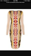 Brand New Alice by Temperley Santos Fitted Dress Size L