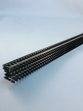 Atlas N Scale  Flex Track Code 80 Black ties #150-2500 - 5 pieces FREE SHIPPING