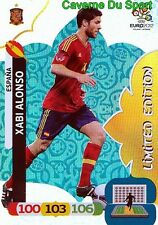 XABI ALONSO ESPANA LIMITED EDITION LIVERPOOL.FC CARD ADRENALYN EURO 2012 PANINI