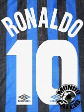 RONALDO KIT INTER NAME SET HOME PERSONALIZZAZIONE  FLOCK 1997-98